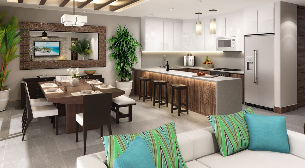 Azure waterfront residential listing new luxury condos - Singular kitchen las palmas ...
